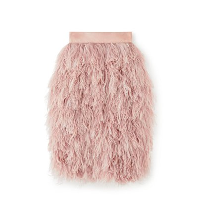 Tom Ford FEATHER SKIRT - Women | TomFord.com