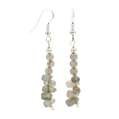 Faceted Labradorite Earrings | Mystic Self LLC