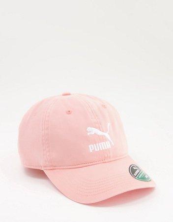 Puma cap in pink | ASOS