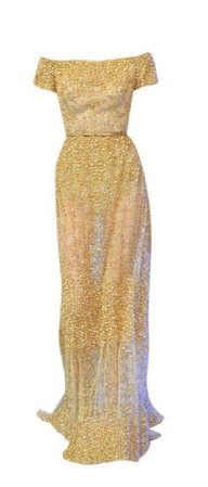 yellow elie saab gown