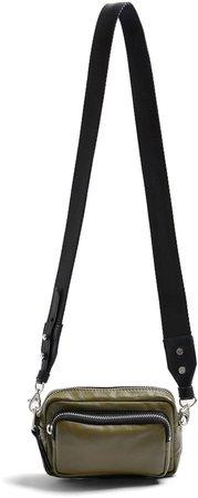 Mini Leather Crossbody Camera Bag