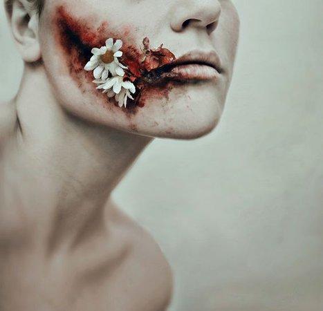 bleeding flowers