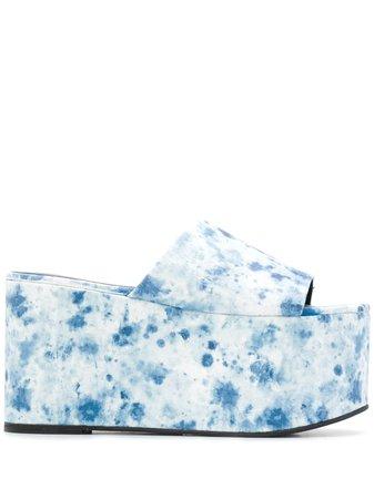 Simon Miller tie-dye Platform Sandals - Farfetch