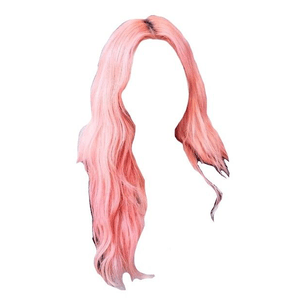 pink hair edit png