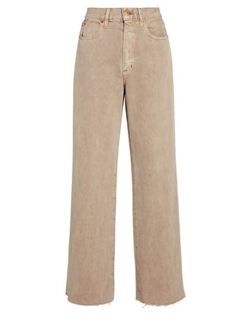SLVRLAKE Grace Wide-Leg Jeans   INTERMIX®