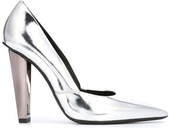 Metallic-Heel Pumps