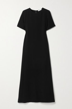 Robi Crepe Maxi Dress - Black