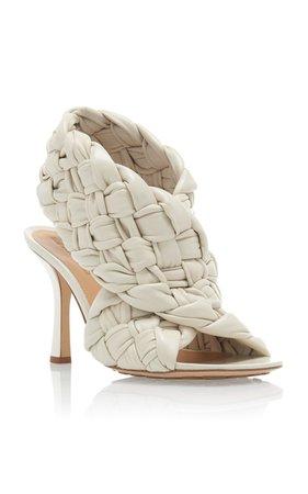 Braided Leather Wrap Sandals by Bottega Veneta | Moda Operandi