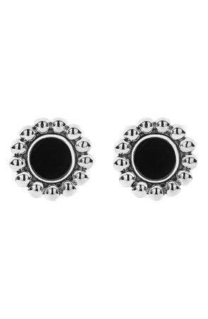 LAGOS Maya Circle Stud Earrings | Nordstrom