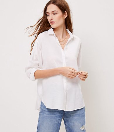 Petite Relaxed Shirt