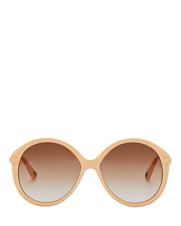 Chloé Oversized Round Sunglasses   INTERMIX®
