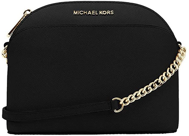 Michael Kors Emmy Saffiano Leather Medium Crossbody Bag