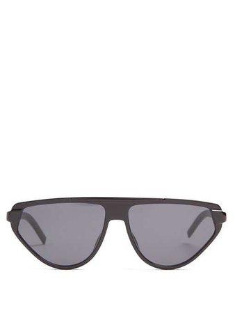 D-frame acetate sunglasses   Dior Homme Sunglasses   MATCHESFASHION.COM FR