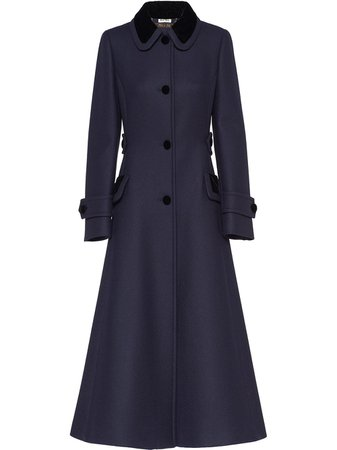 Miu Miu, Button-Front Coat
