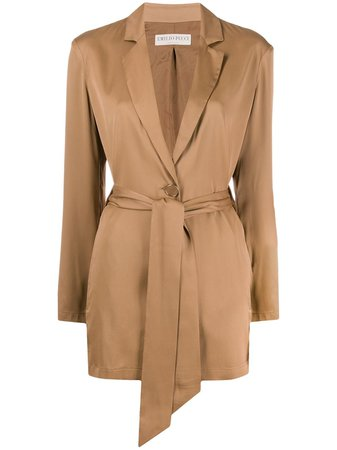 Emilio Pucci Belted long-length Jacket - Farfetch