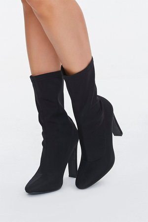 Faux Suede Slouchy Booties | Forever 21