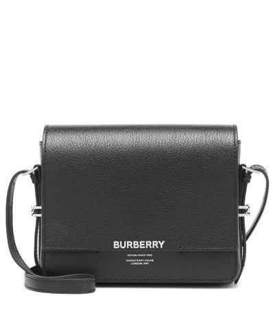 Burberry - Grace leather shoulder bag   Mytheresa