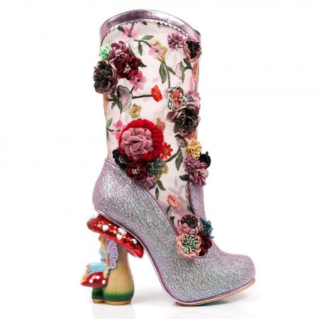 Fairy Toadstool Mushroom Angelica Pearson Pink Limited Edition Boots