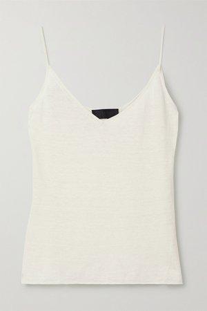 Ivory Kerry linen camisole | Nili Lotan | NET-A-PORTER