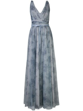 Marchesa Notte Bridesmaids платье с цветочным принтом - купить в интернет магазине в Москве   Цены, Фото.