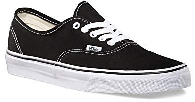 vans - black and white - low top