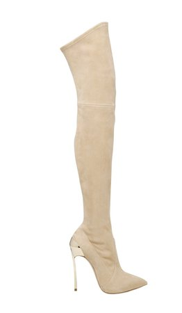 Casadei Suede Overknee Boots