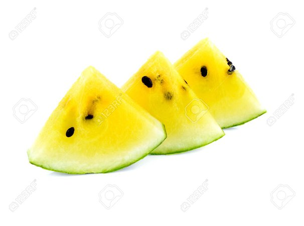 yellow watermelon slices - Google Search