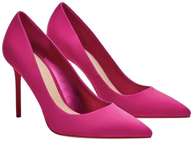 Zara pink high heels pumps
