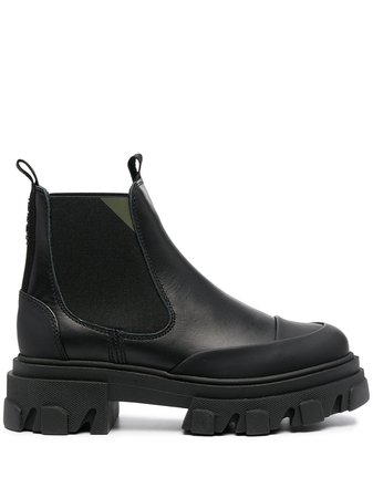 GANNI chunky sole boots