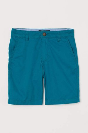 Chino Shorts - Turquoise