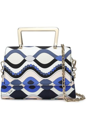 Printed silk-twill clutch | EMILIO PUCCI | Sale up to 70% off | THE OUTNET