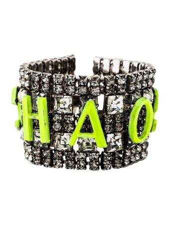 Tom Binns Crystal 'Chaos' Bracelet - Bracelets - W4T21746 | The RealReal