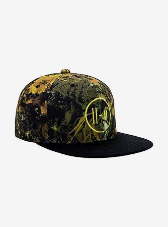 Twenty One Pilots Floral Camo Snapback Hat