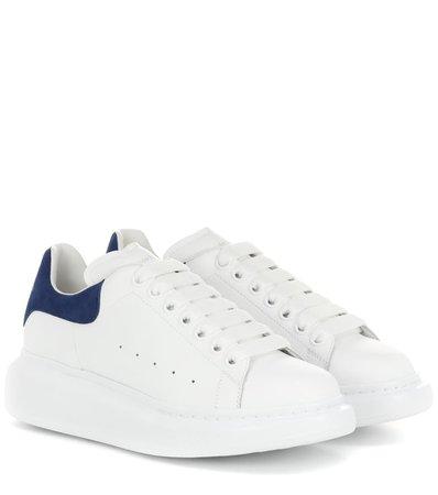 Sneakers In Pelle - Alexander McQueen | mytheresa