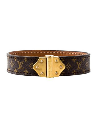 Louis Vuitton Nano Monogram Bracelet - Bracelets - LOU228499 | The RealReal