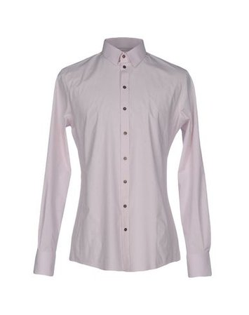 Dolce & Gabbana Solid Color Shirt - Men Dolce & Gabbana Solid Color Shirts online on YOOX United States - 38608926NL