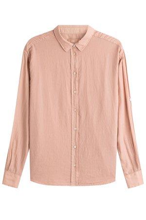 Cotton-Cashmere Blouse Gr. XS