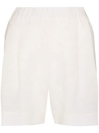 Asceno Zurich Linen Shorts - Farfetch