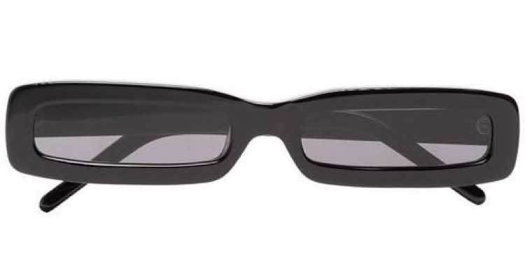 George keburia black square framed tinted sunglasses