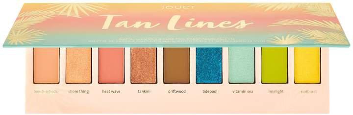 Jouer Cosmetics - Tan Lines Matte, Shimmer & Luxe Foil Eyeshadow Palette