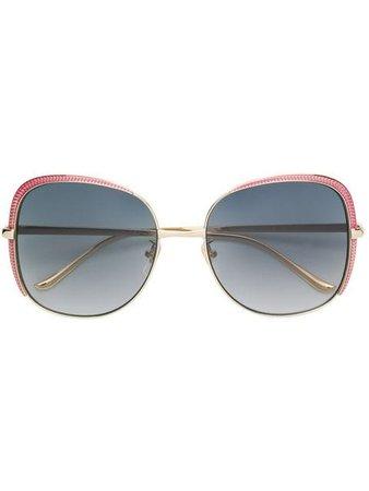 Gucci Eyewear Oversized Square Shaped Sunglasses - Farfetch