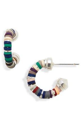 Kendra Scott Reece Huggie Hoop Earrings | Nordstrom