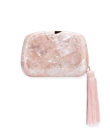Rafe Stella Minaudiere Clutch Bag with Tassel | Neiman Marcus