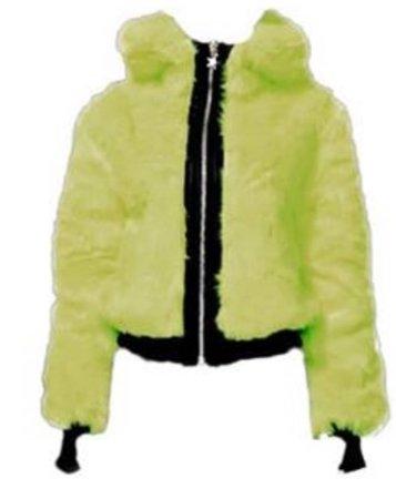 DOLLS KILL Nightcall Neon Bomber Jacket