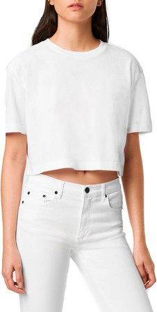 Sahanna Crop Jersey T-Shirt