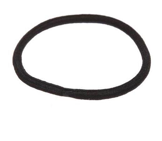 elastic black hair band