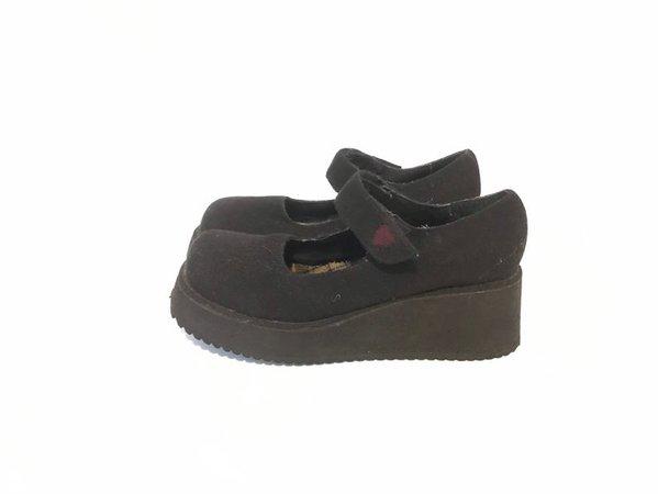 Vintage Black 90sM.I.A. Maryjane Shoes   Etsy