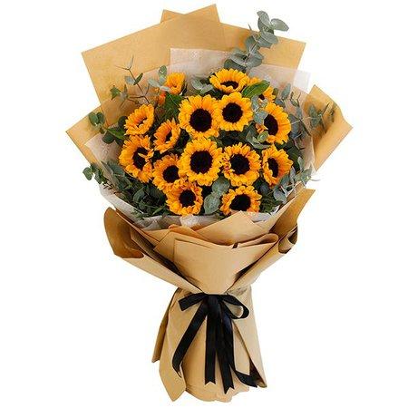 Juneflowers.com - Bouquet of Sunflower