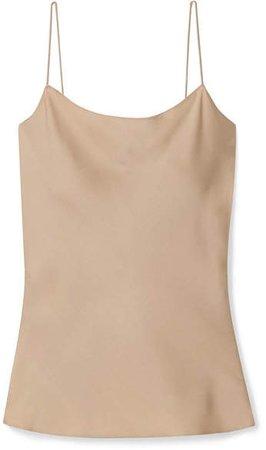 Teah Stretch-silk Camisole - Beige