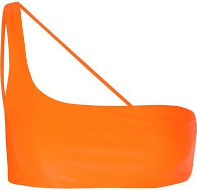 Apex One-shoulder Bikini Top - Orange